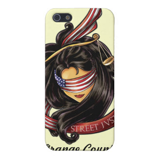 Justice Is Blind *Personalized* by Street Justice Cover For iPhone SE/5/5s