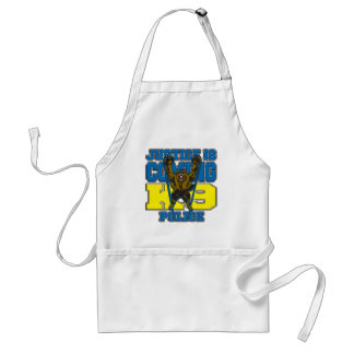 Justice is Coming K9 Police Apron