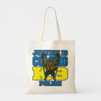 Justice is Coming K9 Police Canvas Bag