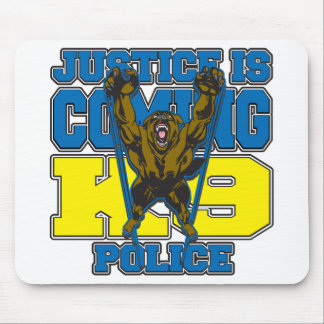 Justice is Coming K9 Police Mouse Pad