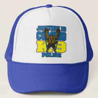 Justice is Coming K9 Police Trucker Hat