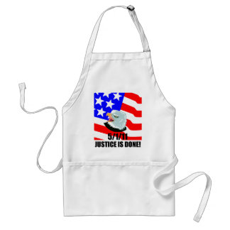 Justice is done adult apron