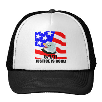 Justice is done trucker hat