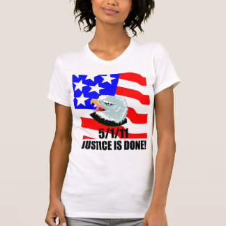 Justice is done t-shirts