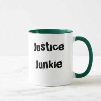 Justice Junkie - Lawyer or Judge Nickname Mug