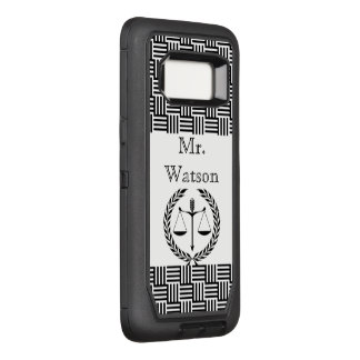 Justice Law Office Personalize Destiny Destiny'S OtterBox Defender Samsung Galaxy S8 Case