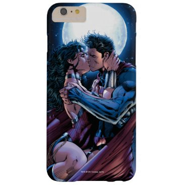 Justice League #12 Wonder Woman & Superman Kiss Barely There iPhone 6 Plus Case