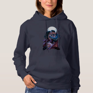 Justice League #12 Wonder Woman & Superman Kiss Hoodie