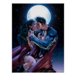 Justice League #12 Wonder Woman & Superman Kiss Poster