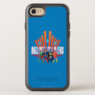 """Justice League """"Against All Odds"""" OtterBox Symmetry iPhone 8/7 Case"""