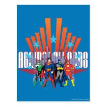 justice league heroes, justice league, batman, bat man, the dark knight, dc comic, dc comic book, dc comics, dc comicbook, dc comic books, dc comicbooks, dc comic book hero, dc comic book heroes, dc comic book super hero, dc comic book super heroes, dc comic hero, dc comic heroes, dc comic super hero, dc comic super heroes, green lantern, the emerald warrior, emerald warrior, the emerald gladiator, emerald gladiator, the flash, flash, the crimson comet, the scarlet speedster, superman, super man, drawing, Postcard with custom graphic design