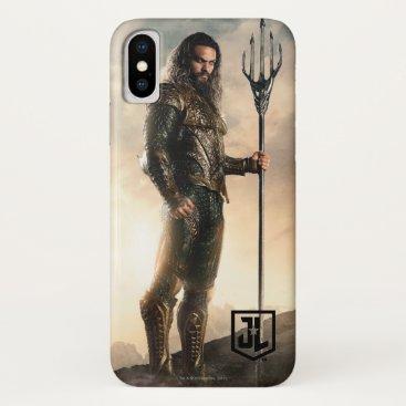 Justice League   Aquaman On Battlefield iPhone X Case