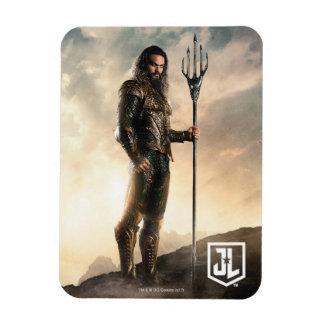 Justice League | Aquaman On Battlefield Magnet