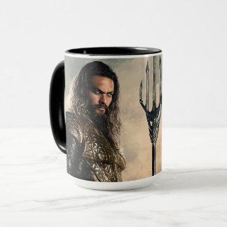 Justice League | Aquaman On Battlefield Mug
