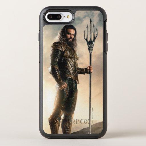 Justice League | Aquaman On Battlefield OtterBox Symmetry iPhone 8 Plus/7 Plus Case