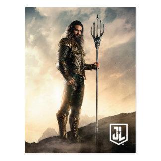 Justice League | Aquaman On Battlefield Postcard