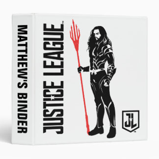 Justice League | Aquaman Pose Noir Pop Art Binder