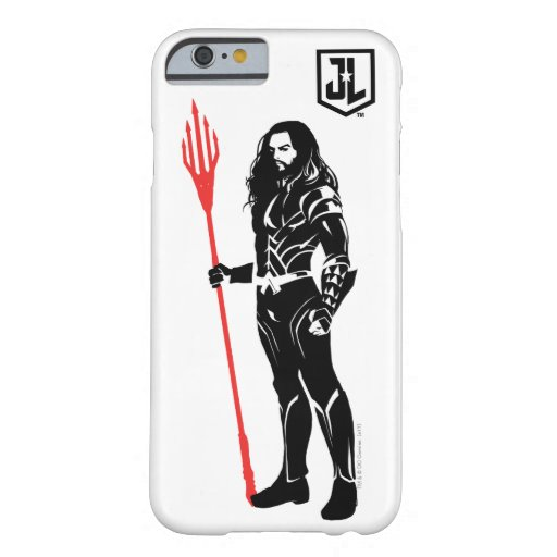 Justice League | Aquaman Pose Noir Pop Art Barely There iPhone 6 Case