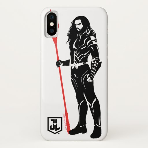 Justice League | Aquaman Pose Noir Pop Art iPhone X Case