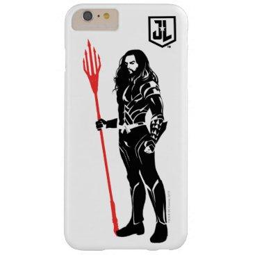 Justice League   Aquaman Pose Noir Pop Art Barely There iPhone 6 Plus Case