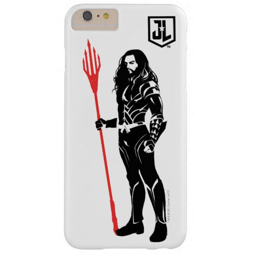 Justice League | Aquaman Pose Noir Pop Art Barely There iPhone 6 Plus Case