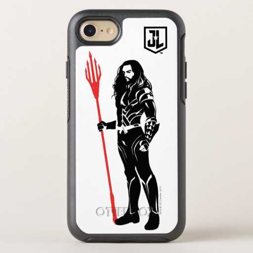 Justice League | Aquaman Pose Noir Pop Art OtterBox Symmetry iPhone SE/8/7 Case