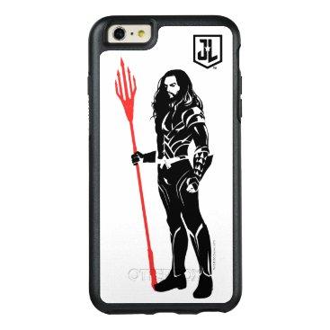 Justice League   Aquaman Pose Noir Pop Art OtterBox iPhone 6/6s Plus Case