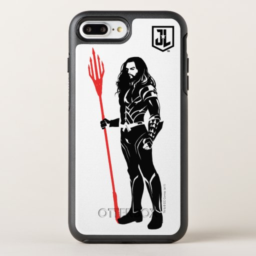 Justice League | Aquaman Pose Noir Pop Art OtterBox Symmetry iPhone 8 Plus/7 Plus Case