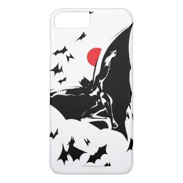 Justice League | Batman in Cloud of Bats Pop Art iPhone 8 Plus/7 Plus Case