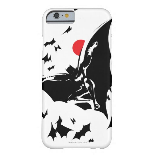 Justice League | Batman in Cloud of Bats Pop Art Barely There iPhone 6 Case