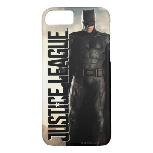 Justice League | Batman On Battlefield iPhone 8/7 Case