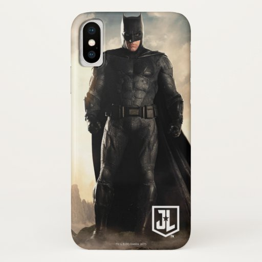 Justice League | Batman On Battlefield iPhone X Case