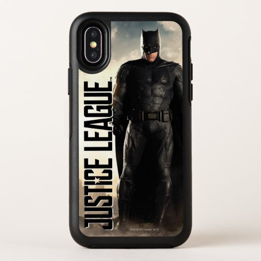 Justice League | Batman On Battlefield OtterBox Symmetry iPhone X Case