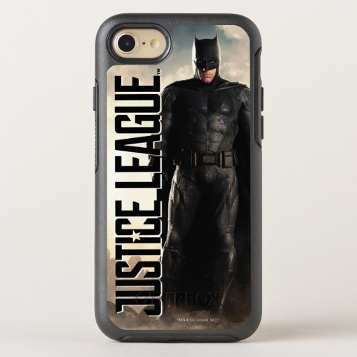 Justice League | Batman On Battlefield OtterBox Symmetry iPhone SE/8/7 Case