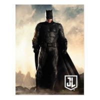 Justice League   Batman On Battlefield Postcard