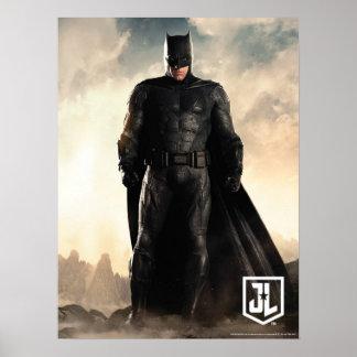 Justice League | Batman On Battlefield Poster
