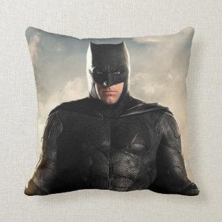 Justice League | Batman On Battlefield Throw Pillow