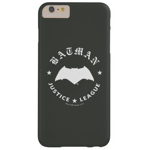 Justice League | Batman Retro Bat Emblem Barely There iPhone 6 Plus Case