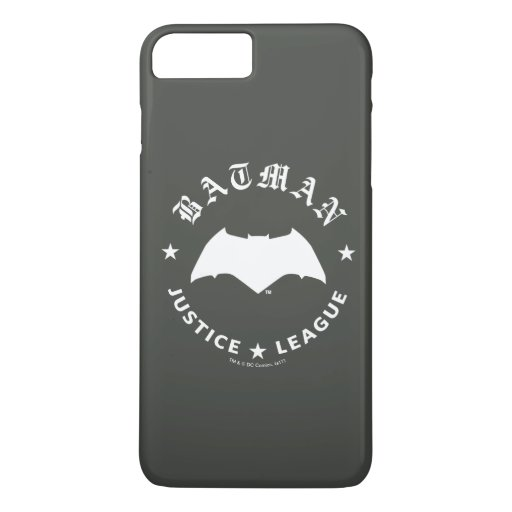 Justice League | Batman Retro Bat Emblem iPhone 8 Plus/7 Plus Case