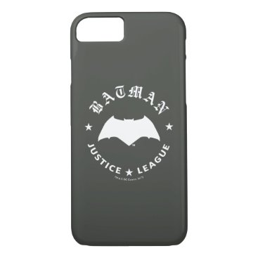 Justice League | Batman Retro Bat Emblem iPhone 8/7 Case