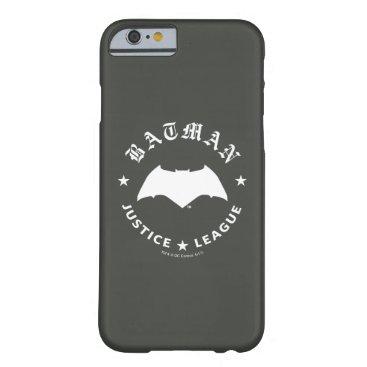 Justice League | Batman Retro Bat Emblem Barely There iPhone 6 Case
