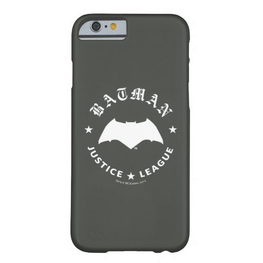 Justice League | Batman Retro Bat Emblem Barely There iPhone 6 Case