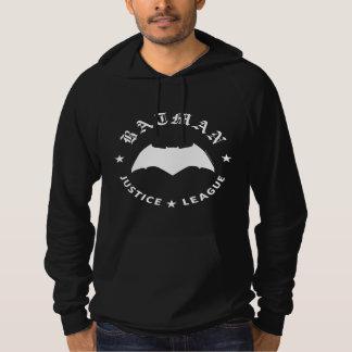 Justice League | Batman Retro Bat Emblem Hoodie