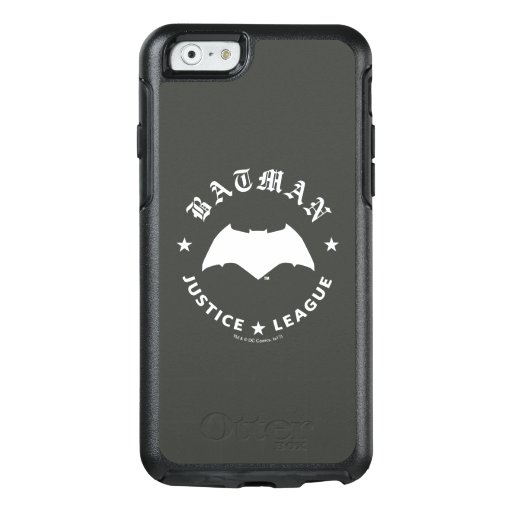 Justice League | Batman Retro Bat Emblem OtterBox iPhone 6/6s Case