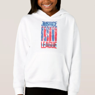 Justice League | Blue & Red Group Pop Art Hoodie
