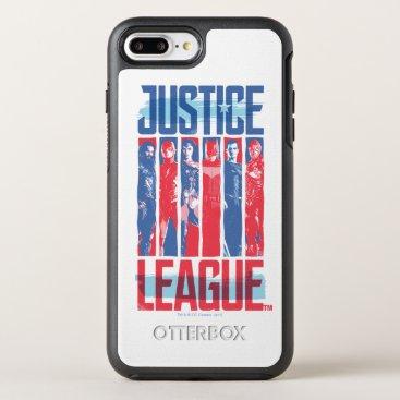 Justice League | Blue & Red Group Pop Art OtterBox Symmetry iPhone 8 Plus/7 Plus Case