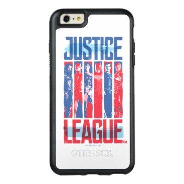 Justice League | Blue & Red Group Pop Art OtterBox iPhone 6/6s Plus Case