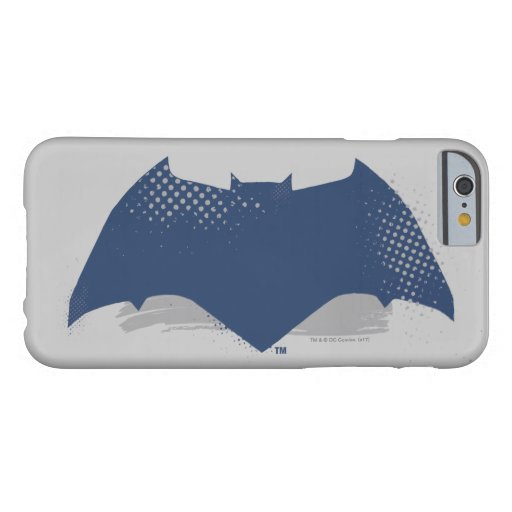 Justice League | Brush & Halftone Batman Symbol Barely There iPhone 6 Case