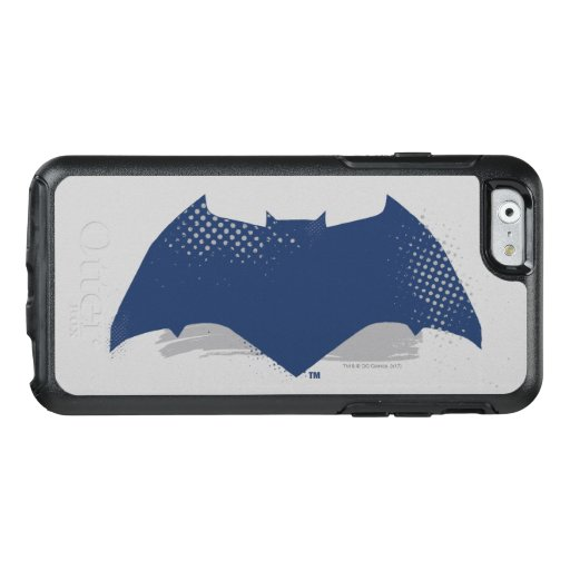 Justice League | Brush & Halftone Batman Symbol OtterBox iPhone 6/6s Case