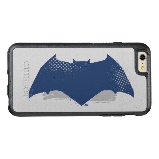 Justice League | Brush & Halftone Batman Symbol OtterBox iPhone 6/6s Plus Case